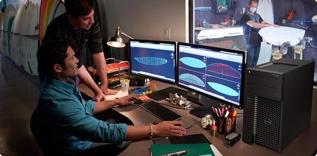 """Dell Precision Tower 3620 thực sự là """"chiến binh"""" giúp các designer thăng hoa trong công việc."""