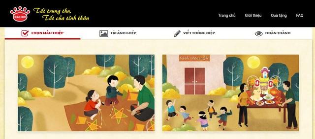Tự thiết kế thiệp gửi tặng người thân