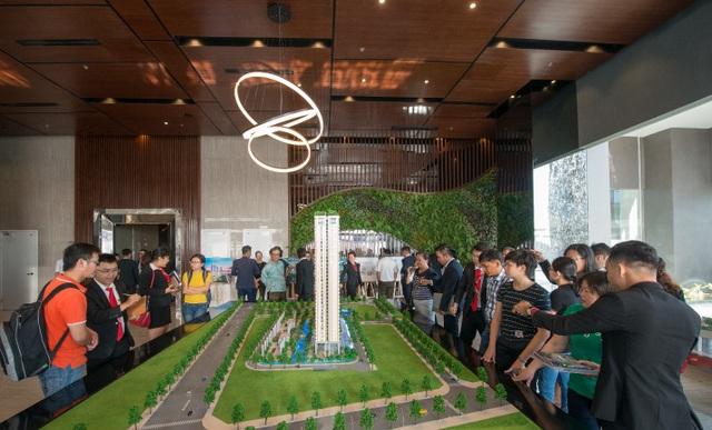 Các chương trình tham quan căn hộ của An Gia luôn thu hút đông đảo người tham gia
