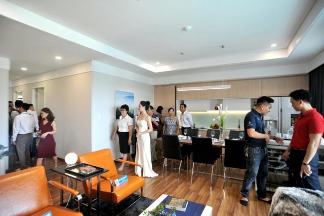 Căn hộ mẫu Mỹ Đình Plaza thu hút nhiều khách hàng và được đánh giá cao