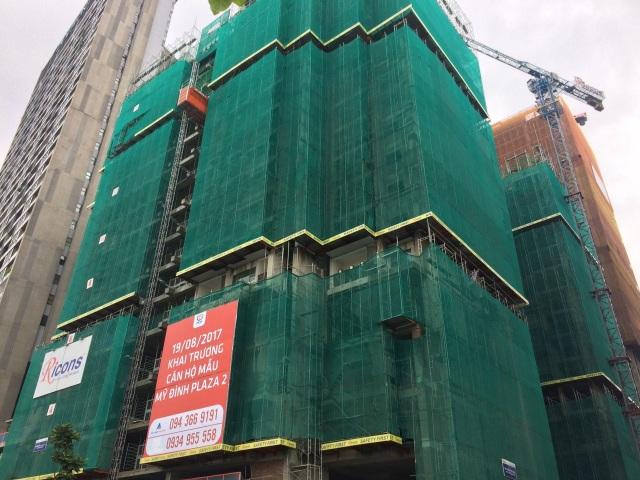 Dự án đang được xây đến tầng 22. Dự kiến sẽ cất nóc vào tháng 10 tới và bàn giao căn hộ cho khách hàng vào Quý I/ 2018.