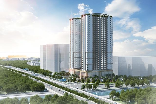 Tứ Hiệp Plaza liền kề công viên Yên Sở được ví như lá phổi xanh rộng hơn 320ha của thủ đô Hà Nội