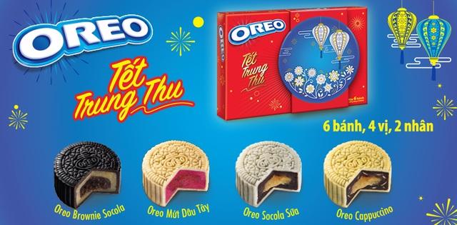 Bánh Trung thu Oreo –lần đầu tiên được giới thiệu đến người tiêu dùng