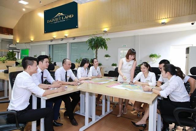 Đại Việt Land sở hữu đội ngũ nhân sự chuyên nghiệp, đầy nhiệt huyết
