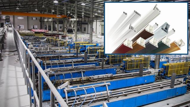 Nhà máy sản xuất thanh Profile uPVC của Tập đoàn DAG.