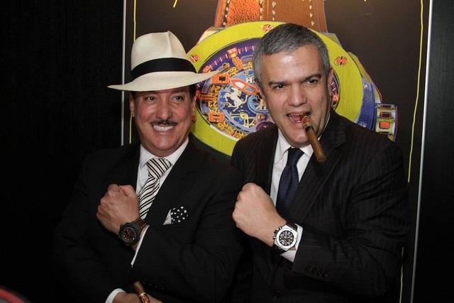 CEO Hublot Ricardo Guadalupe và CEO thương hiệu xì gà trăm tuổi Arturo Fuente sẽ cùng tham dự một sự kiện tại TP HCM.