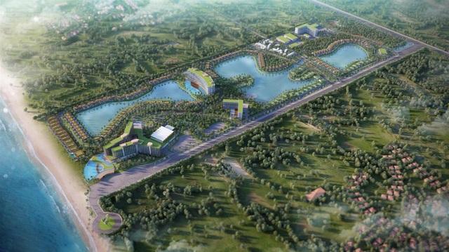 Dự án do Tập đoàn MIK Group và Movenpick Thuỵ Sỹ hợp tác dự kiến triển khai tại Bãi biển Ông Lang