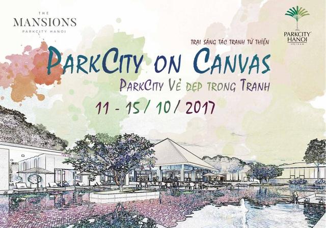 """ParkCity Hanoi tổ chức trại sáng tác tranh từ thiện – """"ParkCity vẻ đẹp trong tranh"""" - 1"""