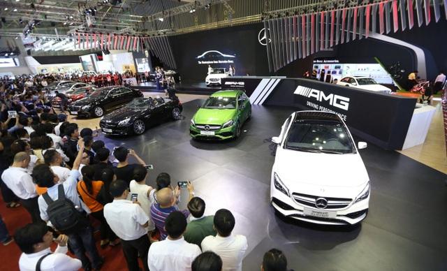 MBV sẽ có một khu vực dành riêng cho xe Mercedes-AMG