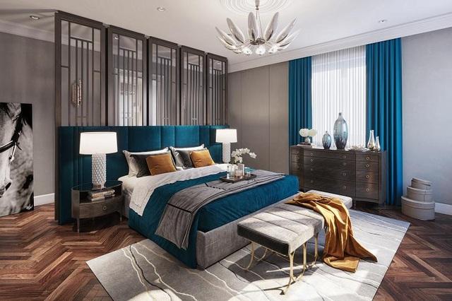 Các căn biệt thự vườn Imperia Garden được thiết kế 4 phòng ngủ với diện tích đa dạng cho cả gia đình.