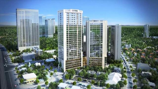 Bidhomes The Garden Hill – dự án trên phố Trần Bình