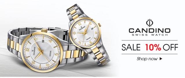Rất nhiều thương hiệu đồng hồ nổi tiếng thế giới đang áp dụng mức ưu đãi lên tới 20% tại Galle Watch.