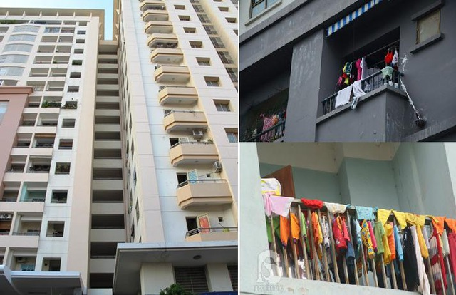 Thường với các căn hộ từ 60 – 80m2, diện tích ban công chỉ tầm 2-3m2. Ban công chật chội đang là nỗi ám ảnh của người mua chung cư