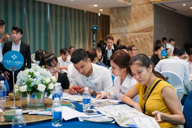 Nhiều nhà đầu tư đăng ký đặt chỗ tại Lễ giới thiệu dự án