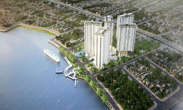 Saigon Riverside City mang đến phong cách sống theo chuẩn resort cao cấp bên sông