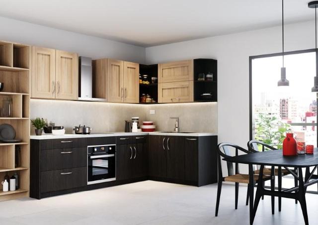 Thiết kế tối giản nhưng tinh tế và hiệu quả là ưu điểm vượt trội của bếp Đức