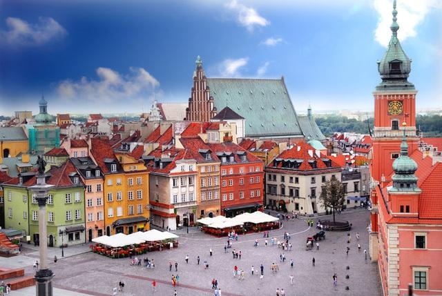 Warsaw cổ kính với nền văn hoá phong phú