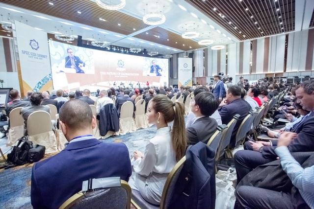 Doanh nhân Huyền Cò tại hội nghị APEC CEO SUMMIT
