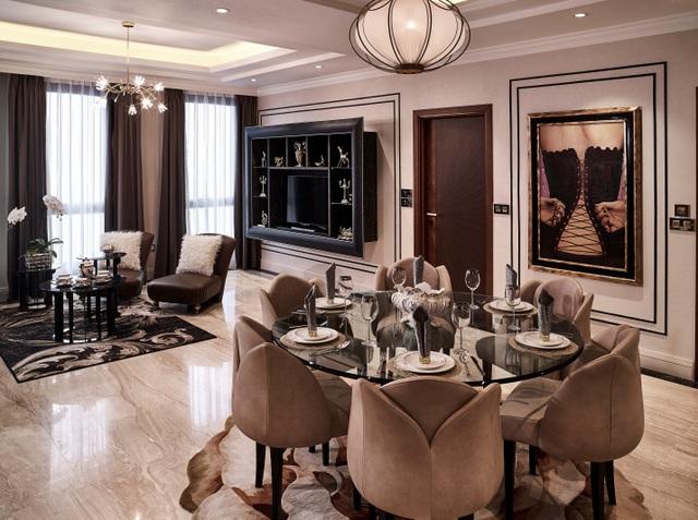 Những thương hiệu nội thất đắt giá bậc nhất thế giới đều được quy tụ tại D'. Palais Louis.