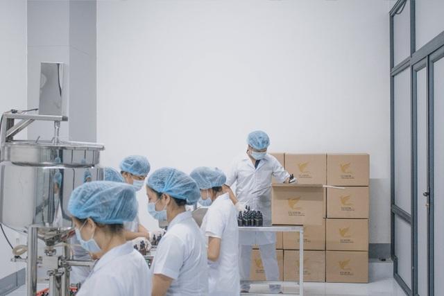 Dây chuyền sản xuất Glamor trong nhà máy
