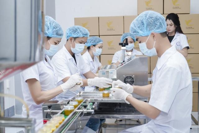 Nhà máy Glamor đạt chuẩn GMP trong việc sản xuất mỹ phẩm tự nhiên an toàn