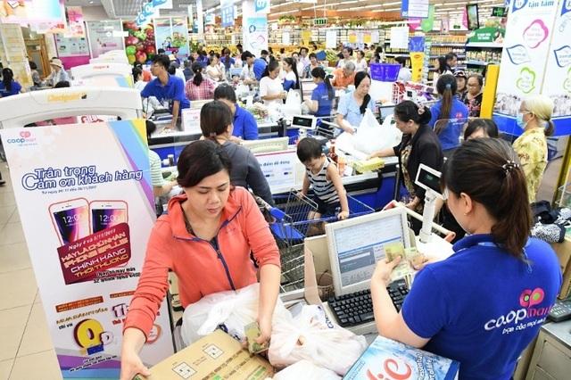 Hầu như ngành hàng nào cũng giảm giá trong những ngày Black Friday tại Co.opmart