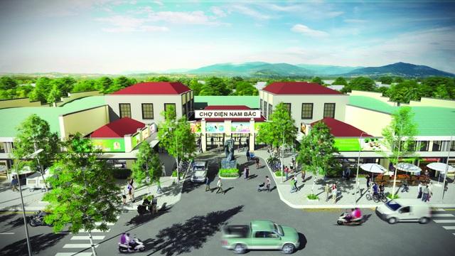 Khu phố chợ Điện Nam Bắc, hướng đến cuộc sống tiến bộ và phát triển