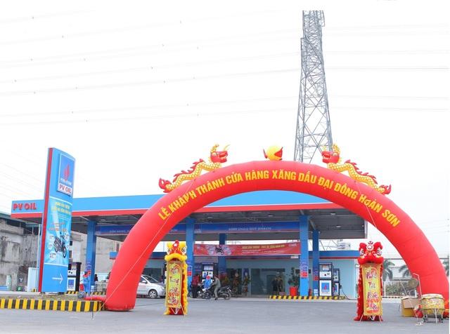 Khai trương cửa hàng xăng dầu liên danh giữa SAIGONTEL và PVOIL - 3