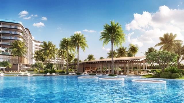"""Mövenpick Resort Waverly Phú Quốc đang là một trong những khu nghỉ dưỡng được nhiều nhà đầu tư """"săn lùng""""."""
