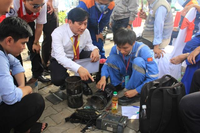 Ông Nguyễn Ngọc Hoa - Phó chủ tịch kiêm Tổng Thư ký Hội Khoa học Kỹ thuật Hàn Việt Nam (VWS), Trưởng ban chỉ đạo Hội thi hướng dẫn các đội thi