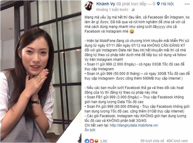 """Huy Cung, Khánh Vy thích thú khi được lướt Instagram """"vèo vèo"""""""