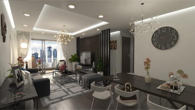 Eco Dream là một trong số ít căn hộ chung cư được trang bị điều hòa Multi