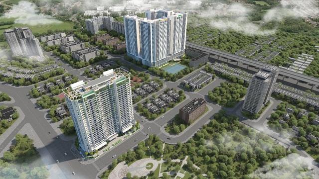 Eco Dream thuộc khu đô thị Tây Nam Kim Giang, Nguyễn Xiển, Hà Nội