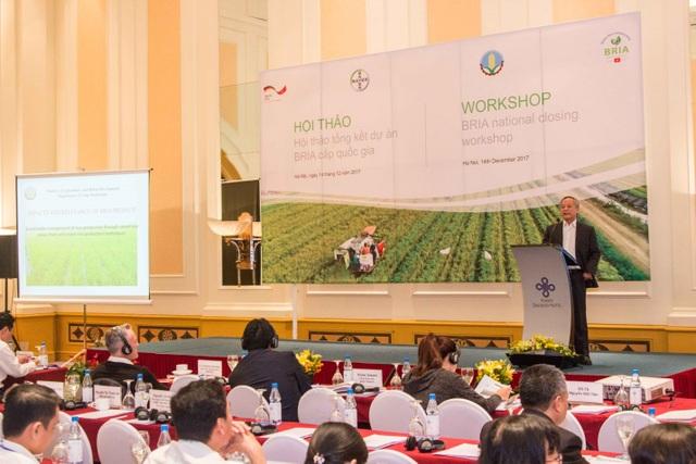 Ông Trần Xuân Định, Phó Cục trưởng Cục Trồng trọt Bộ NN&PTNT đánh giá dự án BRIA