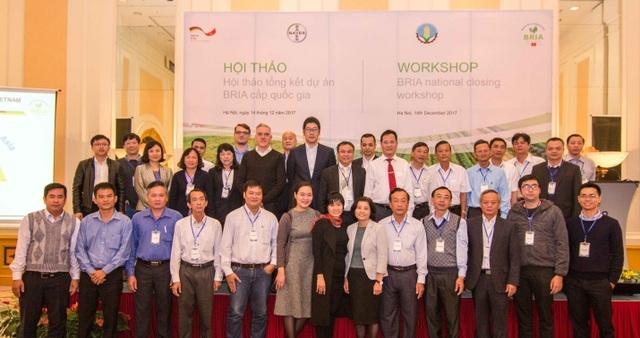 Toàn cảnh Tổng kết Dự án BRIA tại Việt Nam