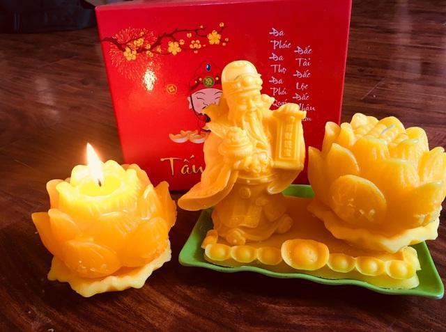 Nến Hoa sen - Tấn Tài Lộc, món quà xuân ý nghĩa