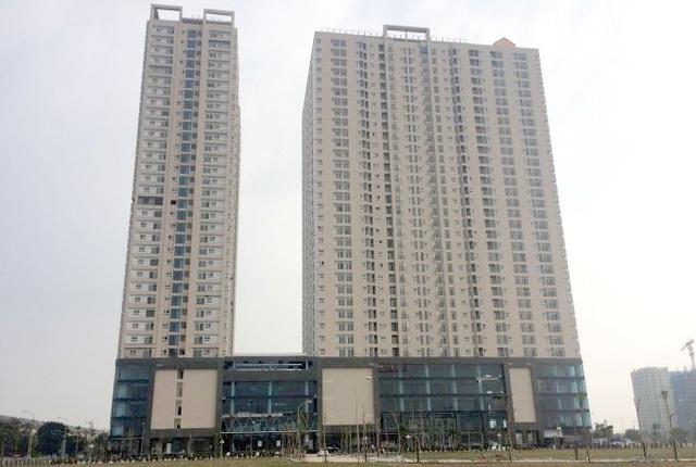 Gemek Tower với 2 tòa tháp cao 34 tầng đã bàn giao nhà 2016