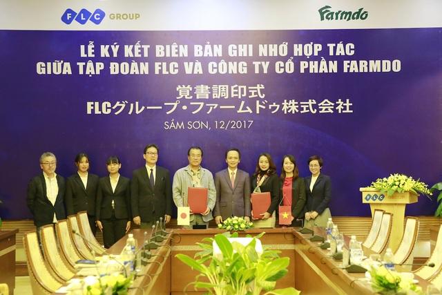 Ký kết hợp tác giữa Farmdo và FLC.