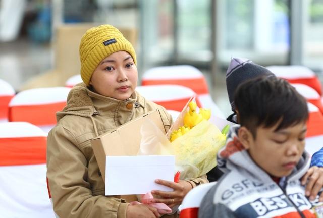 Chị Nguyễn Thanh Tuyền (25 tuổi, Hưng Yên), bị bệnh ung thư máu đang điều trị tại Viện Huyết học - Truyền máu Trung ương