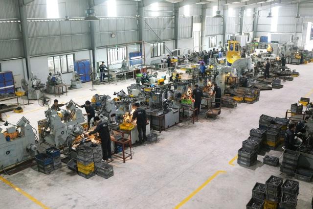 Một trong bốn nhà máy sản xuất công ty Cổ phần FBF