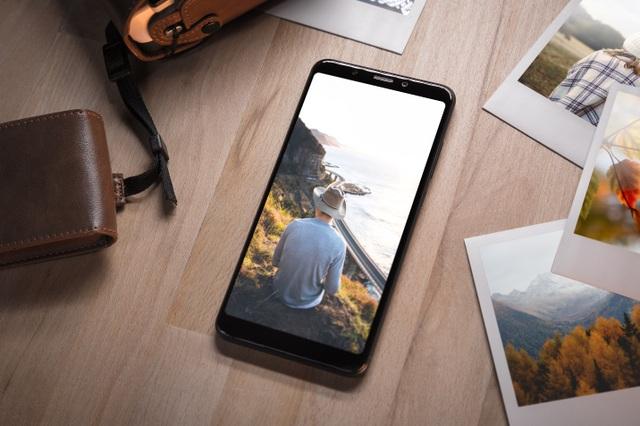 Wiko View XL sở hữu màn hình tràn cao cấp