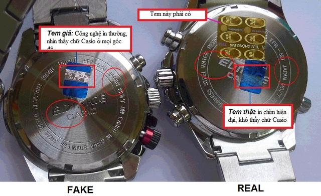"""Ngược lại, đồng hồ giả thường không có phụ kiện đi kèm; hoặc nếu có, phụ kiện trông cũng không được """"xịn"""" như hàng thật."""