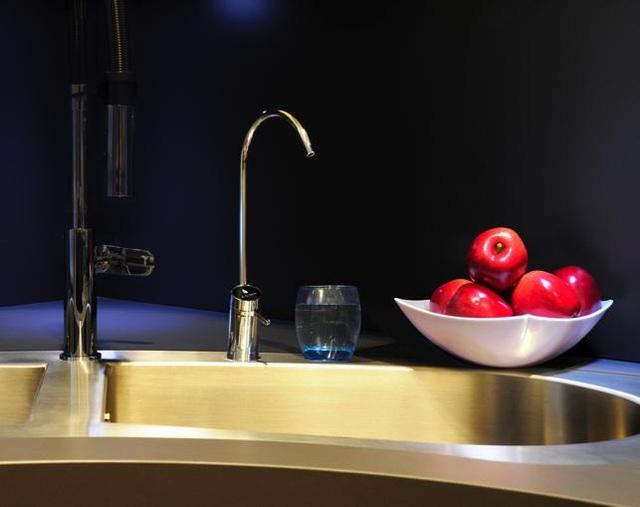 Vòi nước điện tử cao cấp có màn hình cảnh báo tình trạng máy lọc nước và lõi lọc RO – Side Stream
