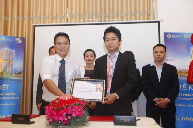 Sàn Giao dịch BĐS VRM chính thức độc quyền phân phối condotel TMS Đà Nẵng