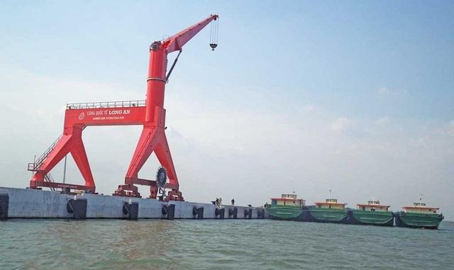 Cảng quốc tế Long An là một trong những cảng biển có quy mô lớn nhất tại miền Nam