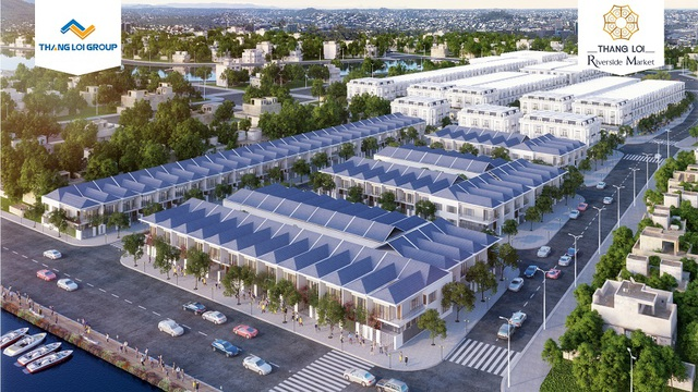 Dự án Thắng Lợi Riverside Market đang gây chú ý tại khu Nam