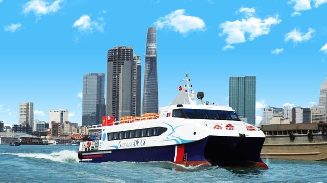 Chính thức vận hành tuyến vận tải hành khách bằng tàu thủy cao tốc TP.HCM -  Cần Giờ - Vũng Tàu – Bến Tre - 1
