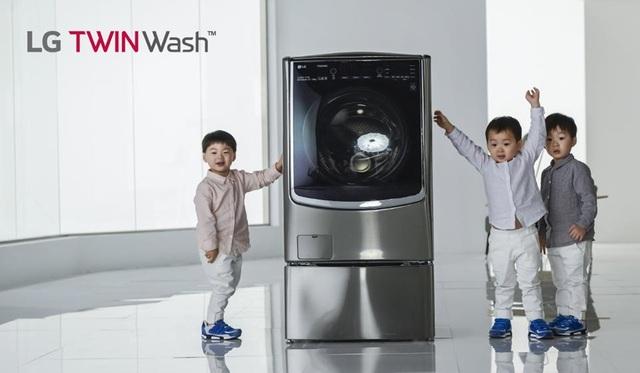 LG TWINWash nâng niu quần áo như được mẹ giặt bằng tay