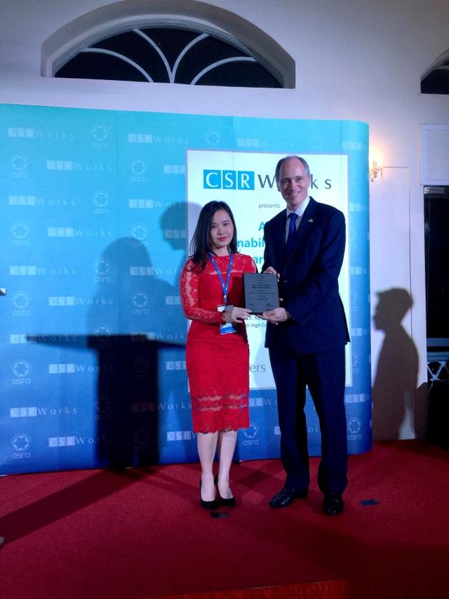 Bảo Việt đạt giải Báo cáo phát triển bền vững tương tác với các bên liên quan tốt nhất Châu Á do ASRA bình chọn