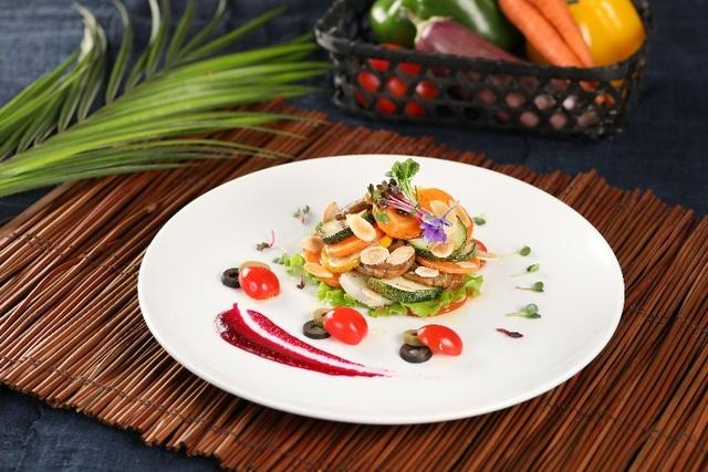 Mỗi món ăn chay tại Vị Lai đẹp vị, đẹp mắt và nhiều chất dinh dưỡng